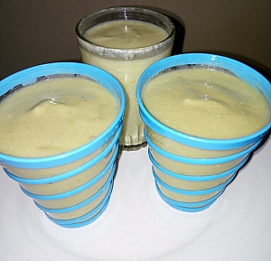 Akamu (Complementary feed for kids) enriched with milk