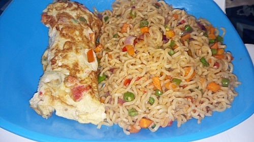 Instant fried noodles recipe:  How to cook fried indomie