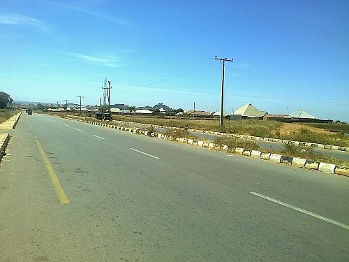 Dual lane of Lamingo road