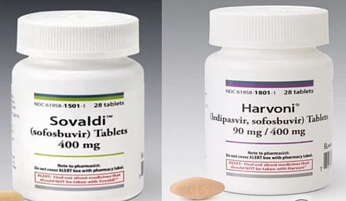 Sovaldi and Harvoni drugs can cure Hepatitis C infection