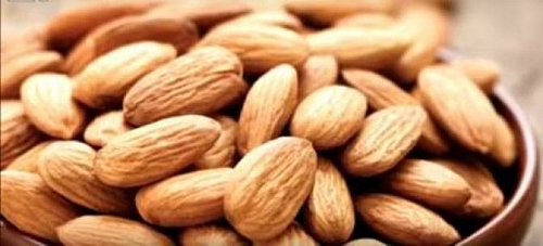 Almonds are good options for snacks