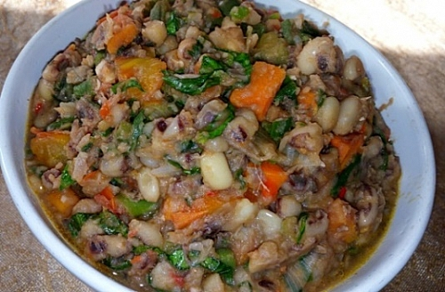 Healthy beans recipe
