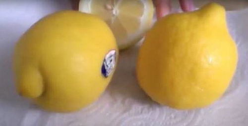 Lemon: a healthy fruit that provides vitamin C and has anti-inflammatory effect.
