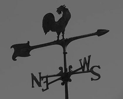 Picture of a Wind vane- for measuring of wind direction