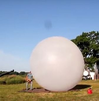Picture of weather balloon