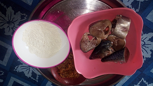 Fried fish Ingredients