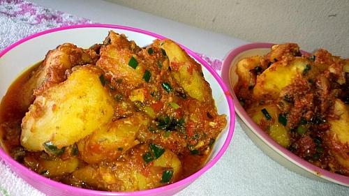Simple sweet potato porridge recipe