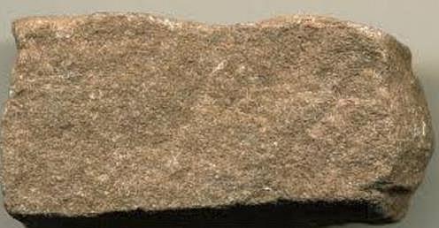 Siltstone, clastic sedimentary rock