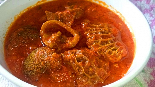 Picture of assorted meat stew