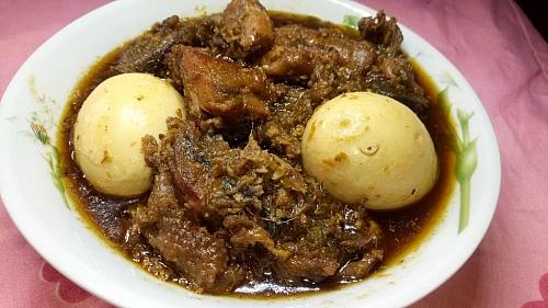 Ayamase stew recipe a.k.a ofada stew