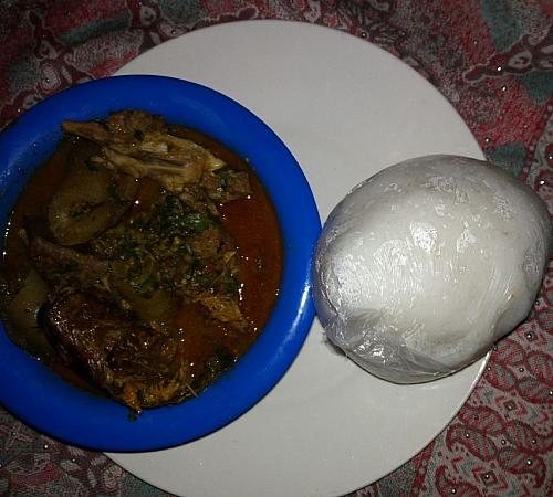 Photo of How to Prepare Tuwo shinkafa (making Eba with local white rice)