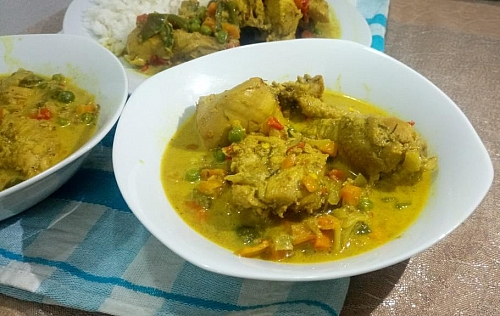 Photo of Coconut Curry Sauce Recipe: How to Make Coconut Curry Sauce with Chicken