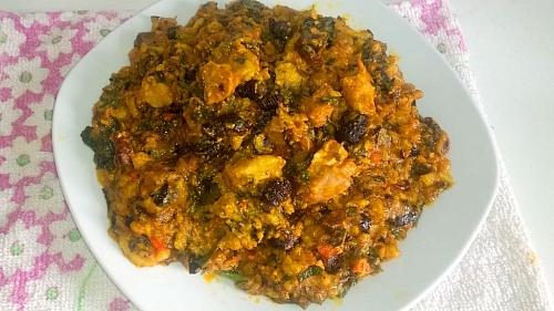 Photo of Ekpang Nkukwo Recipe: How to Prepare Ekpang Nkukwo (Cocoyam Pottage)