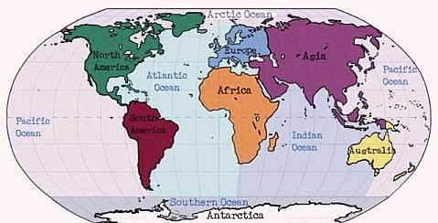 Photo of Five (5) Oceans of the World |Oceans Information Facts | Importance of Oceans
