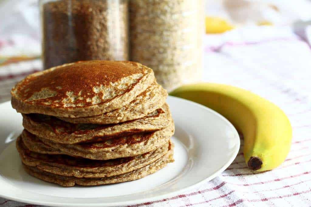 3 ingredient banana pancakes recipe for breakfast