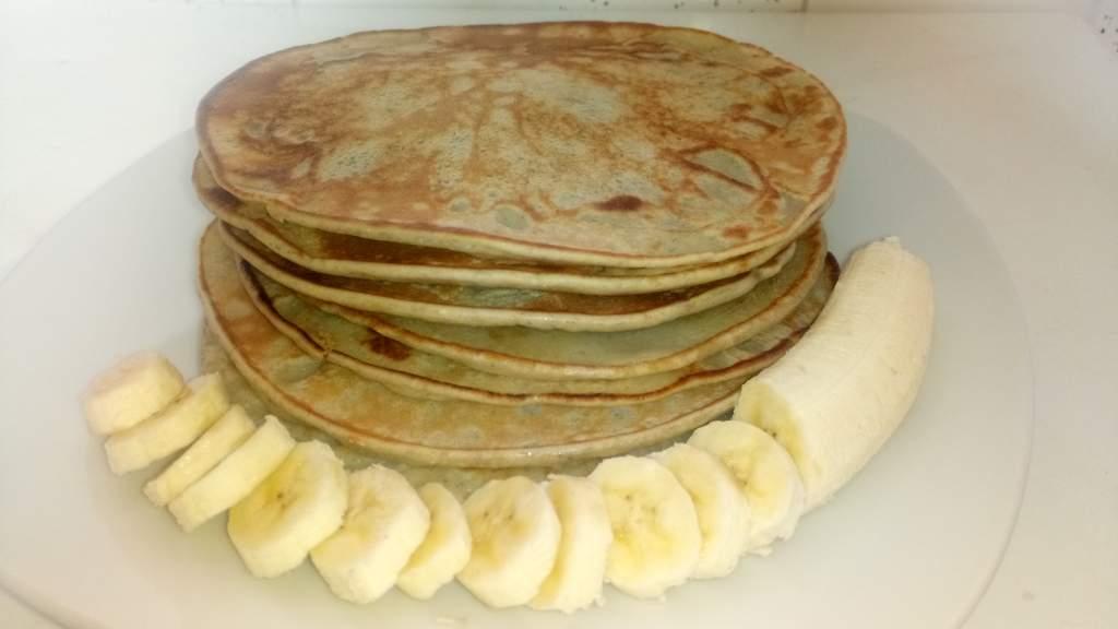 Healthy banana pancakes recipe