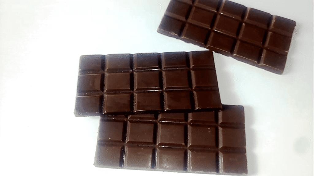 Homemade Dark Chocolate Bars