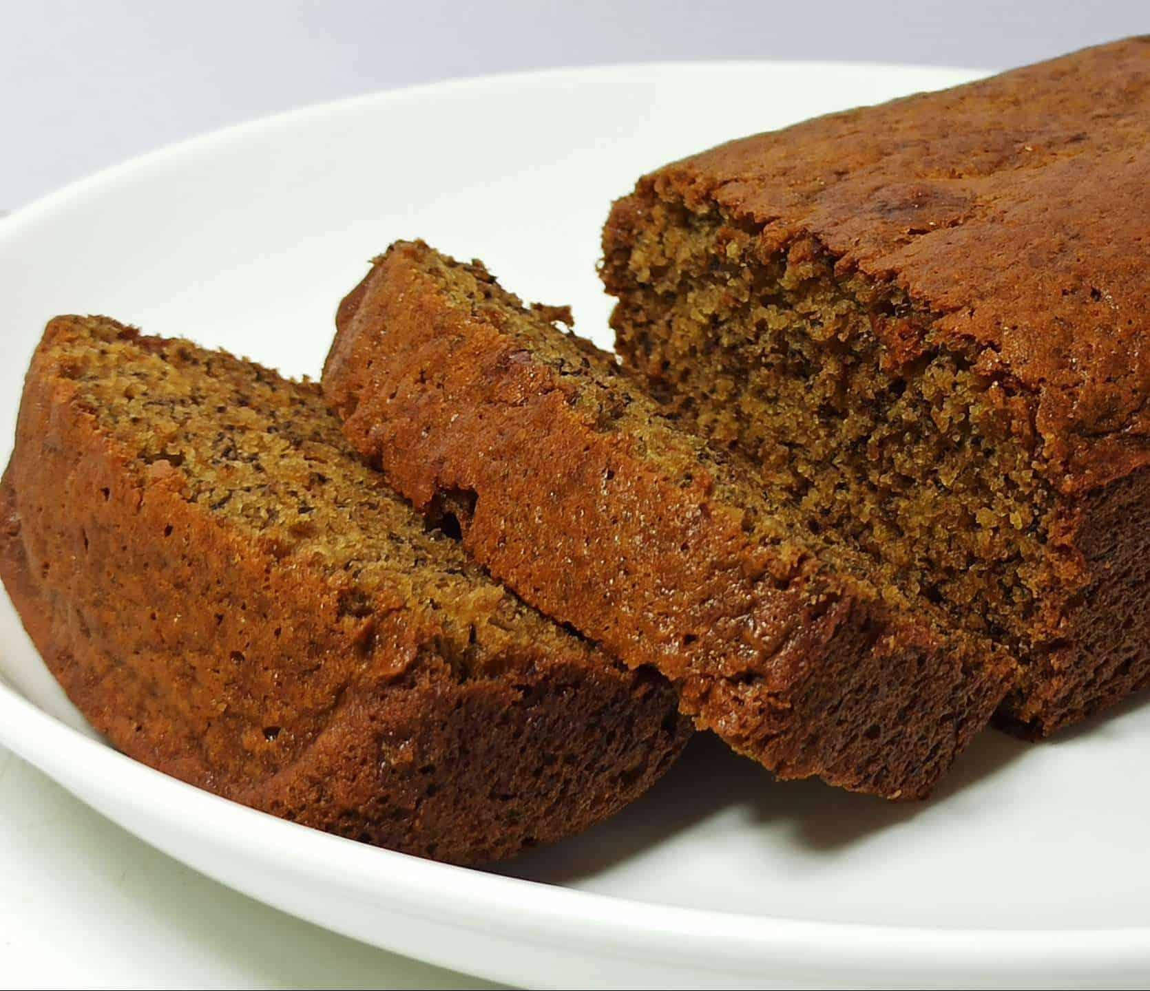 Moist and Easy Banana Bread Recipe: Healthy Homemade Banana Bread