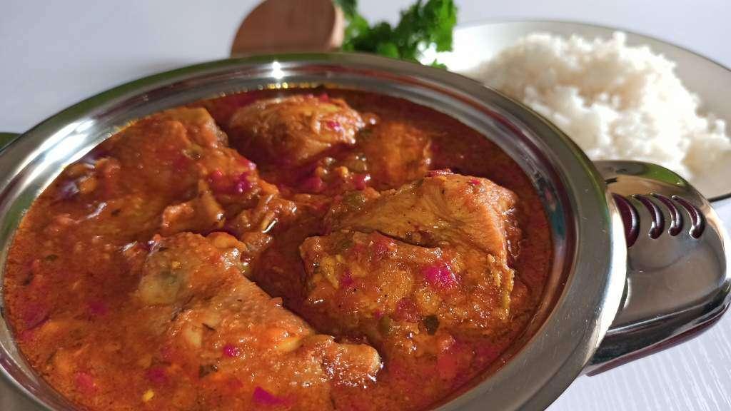 Chicken Curry Recipe (Easy Curried Chicken)