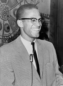 A picture of Malcolm X