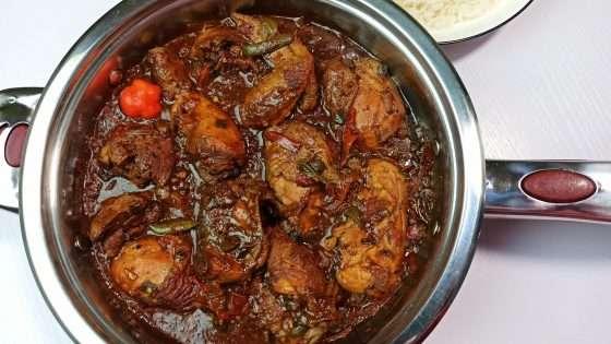 Authentic Brown Stew Chicken