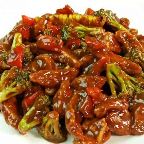 Spicy and Savory Hunan Chicken