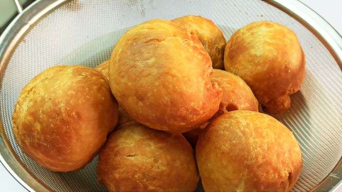 Your easy homemade Jamaican fried dumplings are ready