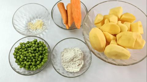 Some Shepherd's Pie Ingredients