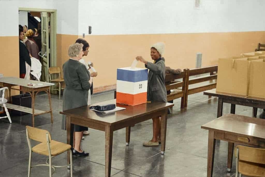 Voting as a sign of Democratic Government