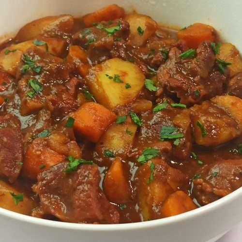 Irish Stew Recipe with Lamb and Guinness