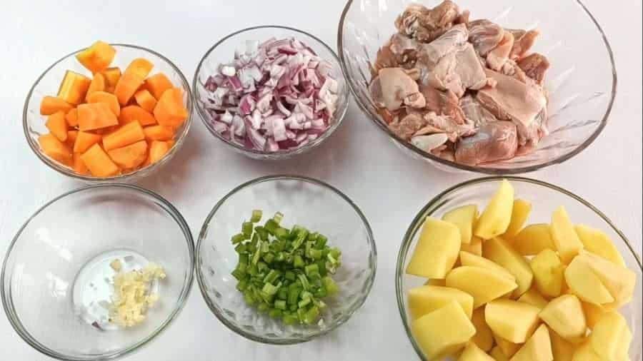 Irish stew main ingredients