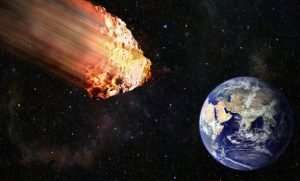 Meteor entering into Earth's atmosphere on landing they become meteorites