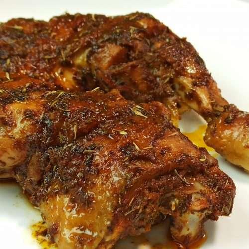 Oven Baked Chicken Leg Quarters