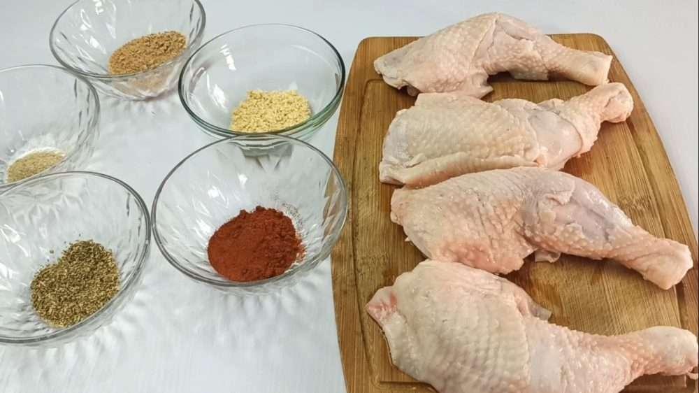 Chicken leg quarters ingredients