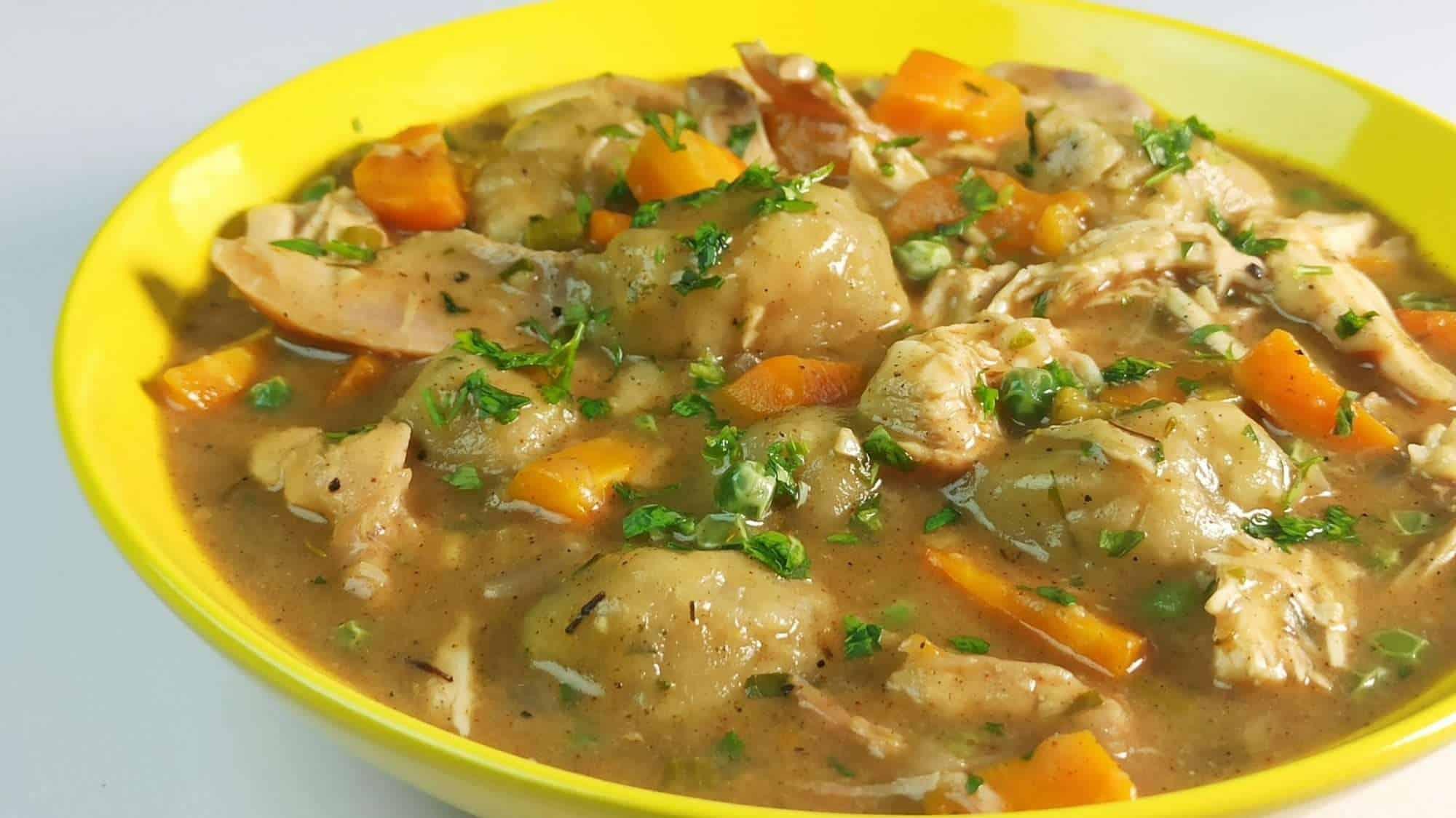 Easy Homemade Chicken and Dumplings