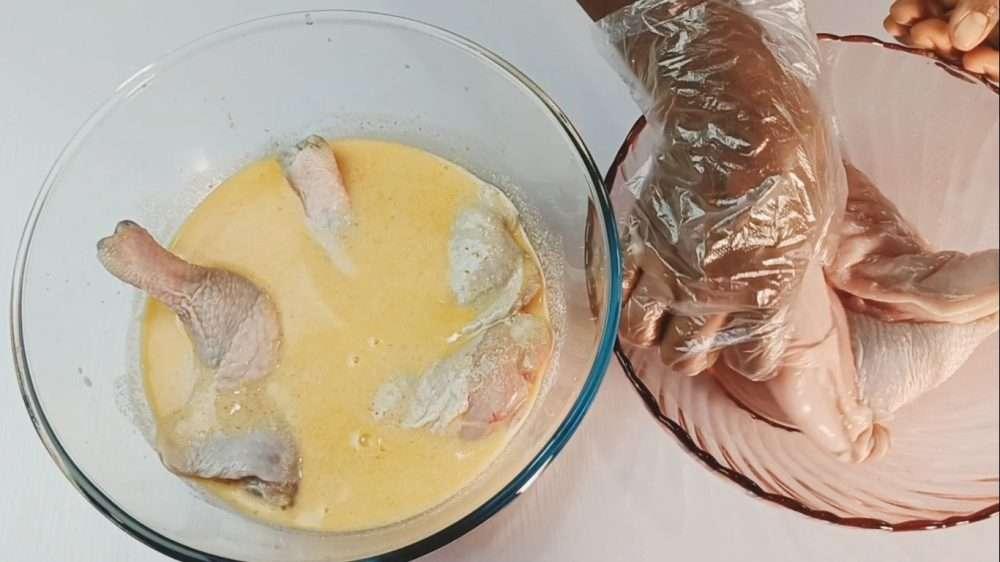 Marinate the chicken overnight