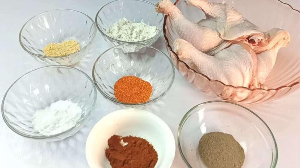 Nashville Hot Chicken Ingredients